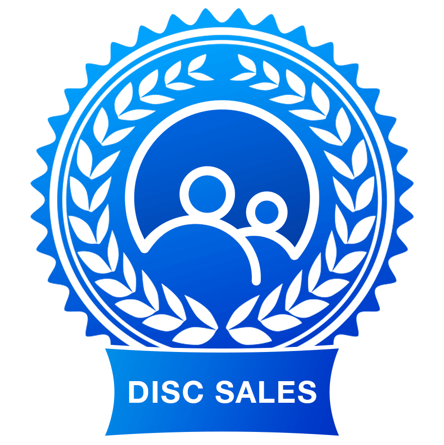 DISC sales assessment badge